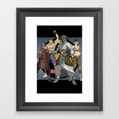 Mortal Kombat: Warriors of Light Framed Art Print
