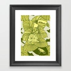 The Amazon Framed Art Print