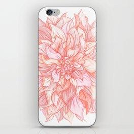 Dreamy Dahlia iPhone Skin
