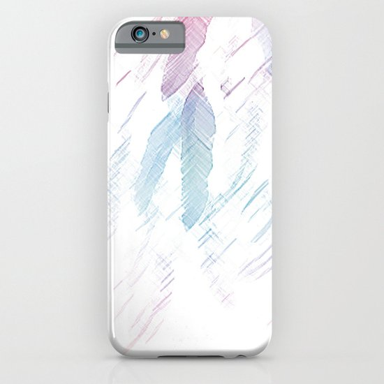 Feather Sketch iPhone & iPod Case