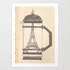 French press... Art Print