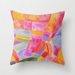 Candy Bunch Throw Pillow