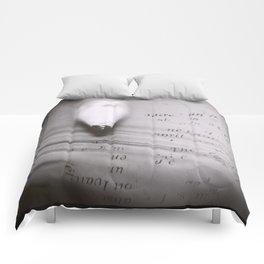 Pencil Dilemma Comforters