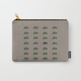 Turtle Print Carry-All Pouch