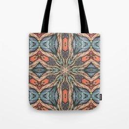 Autumn Leaves Mandala Tote Bag
