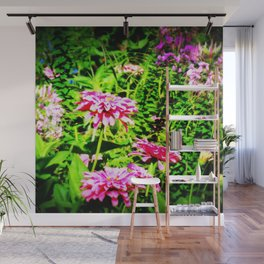 Bright Flowers Wall Mural