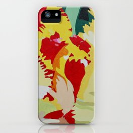 Parrot Tulip iPhone Case