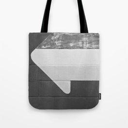 Arrow (Black and White) Tote Bag