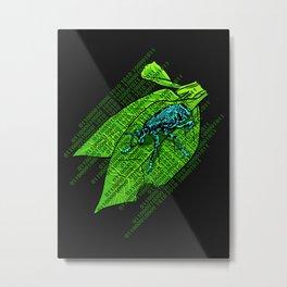 Leap Year Bug Metal Print