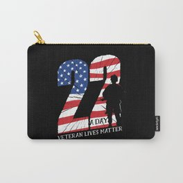 VETERAN QUOTE Carry-All Pouch