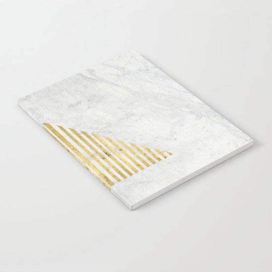 Trian Gold Notebook