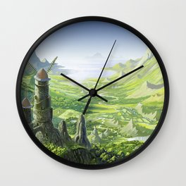 The Valley of the Wind, Nausicaa Wall Clock