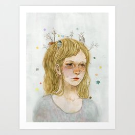 Homesickness Art Print