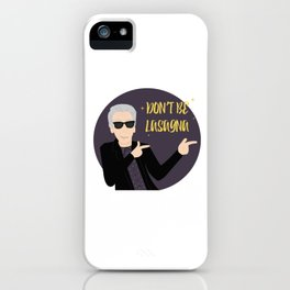 Twelve, Don't be lasagna iPhone Case