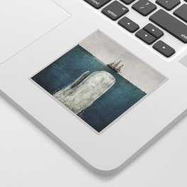 The Whale - vintage Sticker