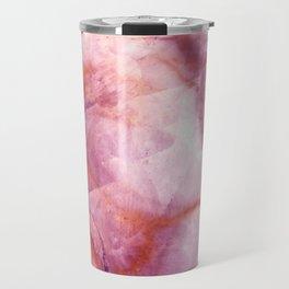 Pink Marble Travel Mug