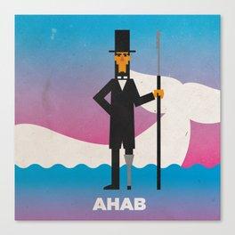 Ahab Canvas Print