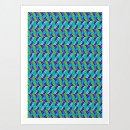 Farbe 2.1 Art Print