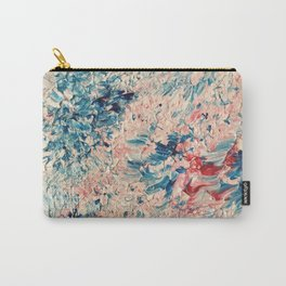 Abstract Pastel Paint Carry-All Pouch