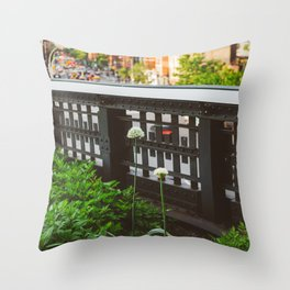 Highline Blooms Throw Pillow