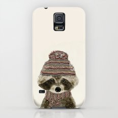 little indy raccoon Galaxy S5 Slim Case