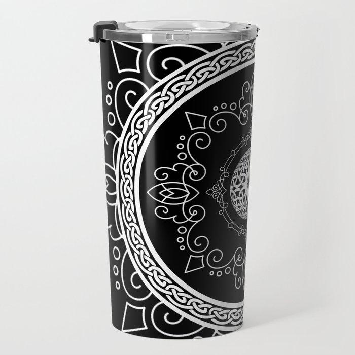 Celtic Soul Mandala Travel Mug