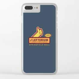 THE SIMPSON S - The Leftorium Clear iPhone Case