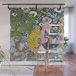 Cheetah hangout Wall Mural