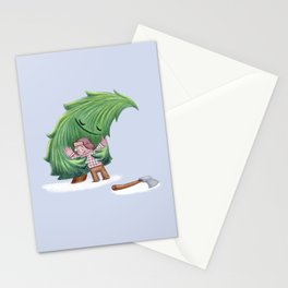 Enemies hug IV Stationery Cards