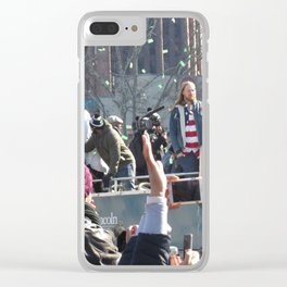 The Parade for the 2018 Super Bowl Champs - Eagles Clear iPhone Case