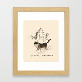 hobo Framed Art Print