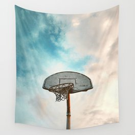basketball hoop 8 Wall Tapestry