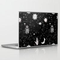 alchemy Laptop & iPad Skins featuring Spiritual Alchemy by Deborah Panesar Illustration