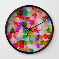 circles Wall Clocks featuring *Circles***** by Mr and Mrs Quirynen