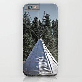 Tipi Dreaming iPhone Case