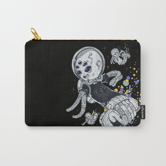 SKATE INVADERS Carry-All Pouch