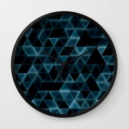 glowingtri Wall Clock