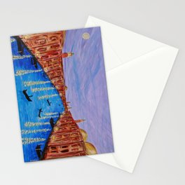 The Second Evening in Venice Stationery Cards