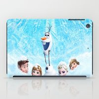 olaf iPad Cases featuring FROZEN OLAF  by BESTIPHONE5CASESHOP