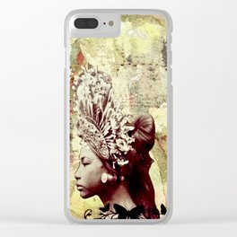 Seeking Serenity Clear iPhone Case