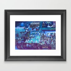 The Blue Box Framed Art Print