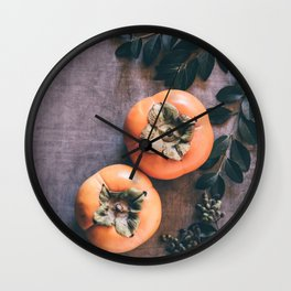 Persimmon Wall Clock
