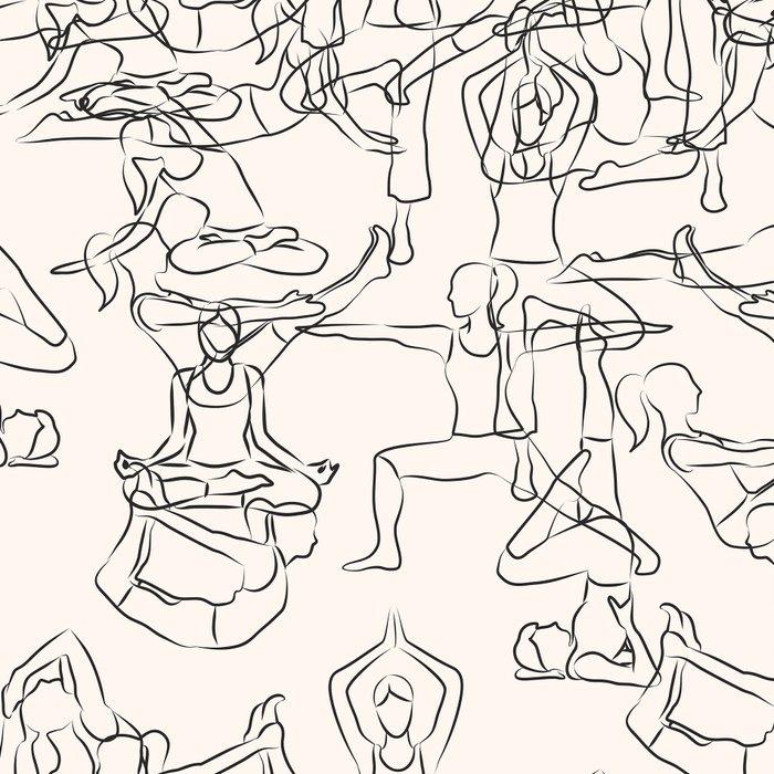Yoga Manuscript Leggings