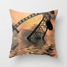 Disaster Throw Pillow