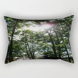 Afternoon Sun • Northpointe Fitness Park & Nature Trails • Marysville, WA Rectangular Pillow