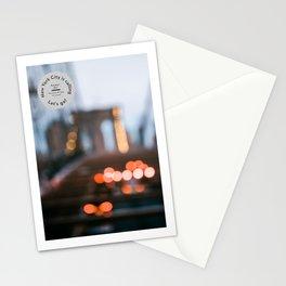 Brooklyn Blur Stationery Cards