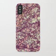 floral sofa Slim Case iPhone X