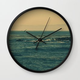 Soar Above, don't look down. Wall Clock