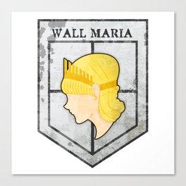 Wall Maria Canvas Print