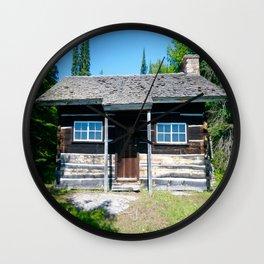 Michigan Cabin Wall Clock
